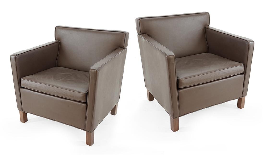 A Pair of Knoll Krefeld Chairs.