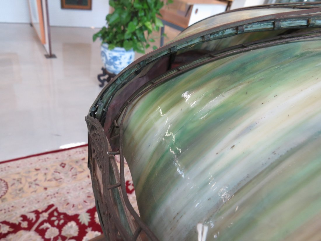 A Handel Table Lamp. - 15
