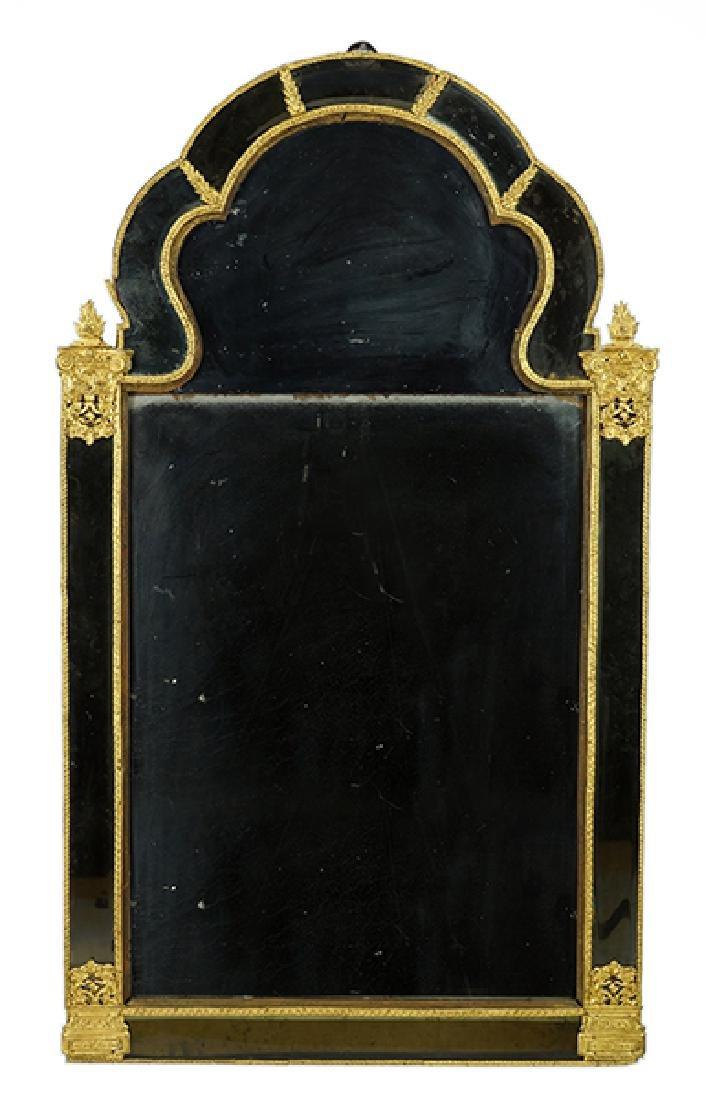 An Early 18th Century Swedish Mirror.