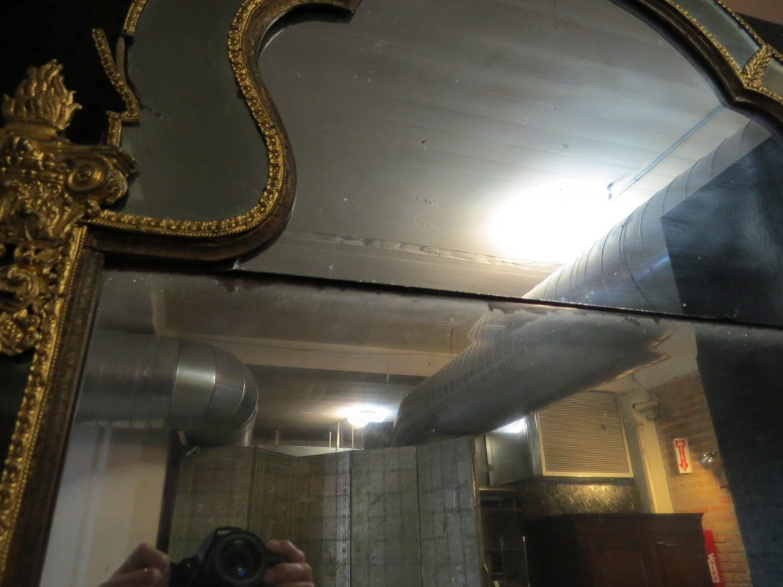 An Early 18th Century Swedish Mirror. - 6