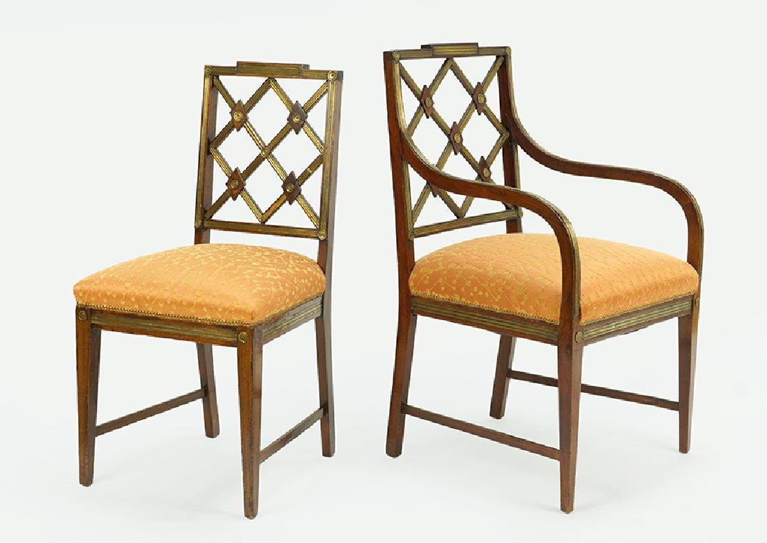 A Set of Ten Early 19th Century Russian Neoclassical