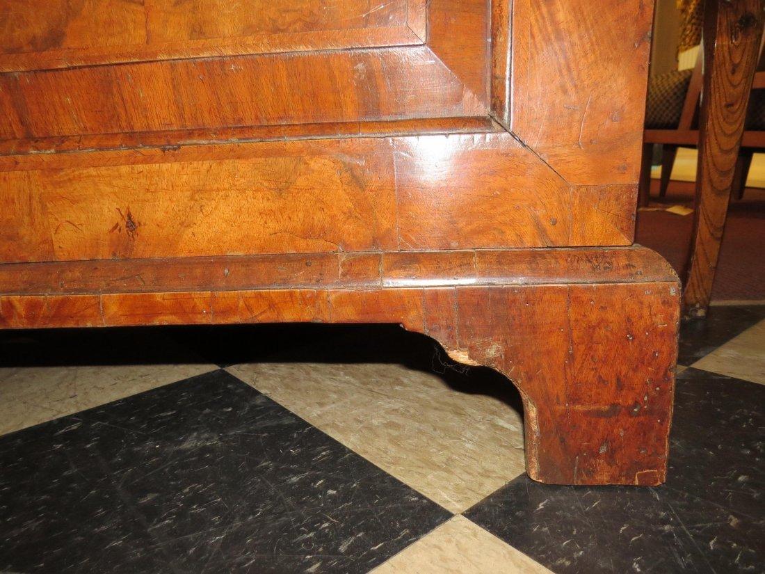 A George I Walnut Veneered Bookcase Cabinet. - 8