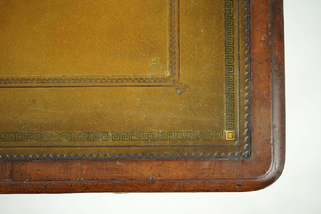 A William IV Mahogany Partner's Desk. - 2