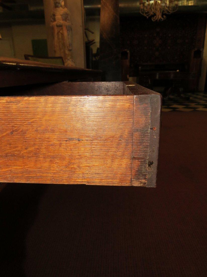 A William IV Mahogany Partner's Desk. - 4