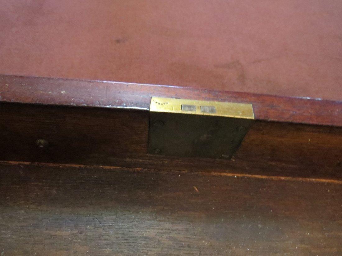 A William IV Mahogany Partner's Desk. - 5