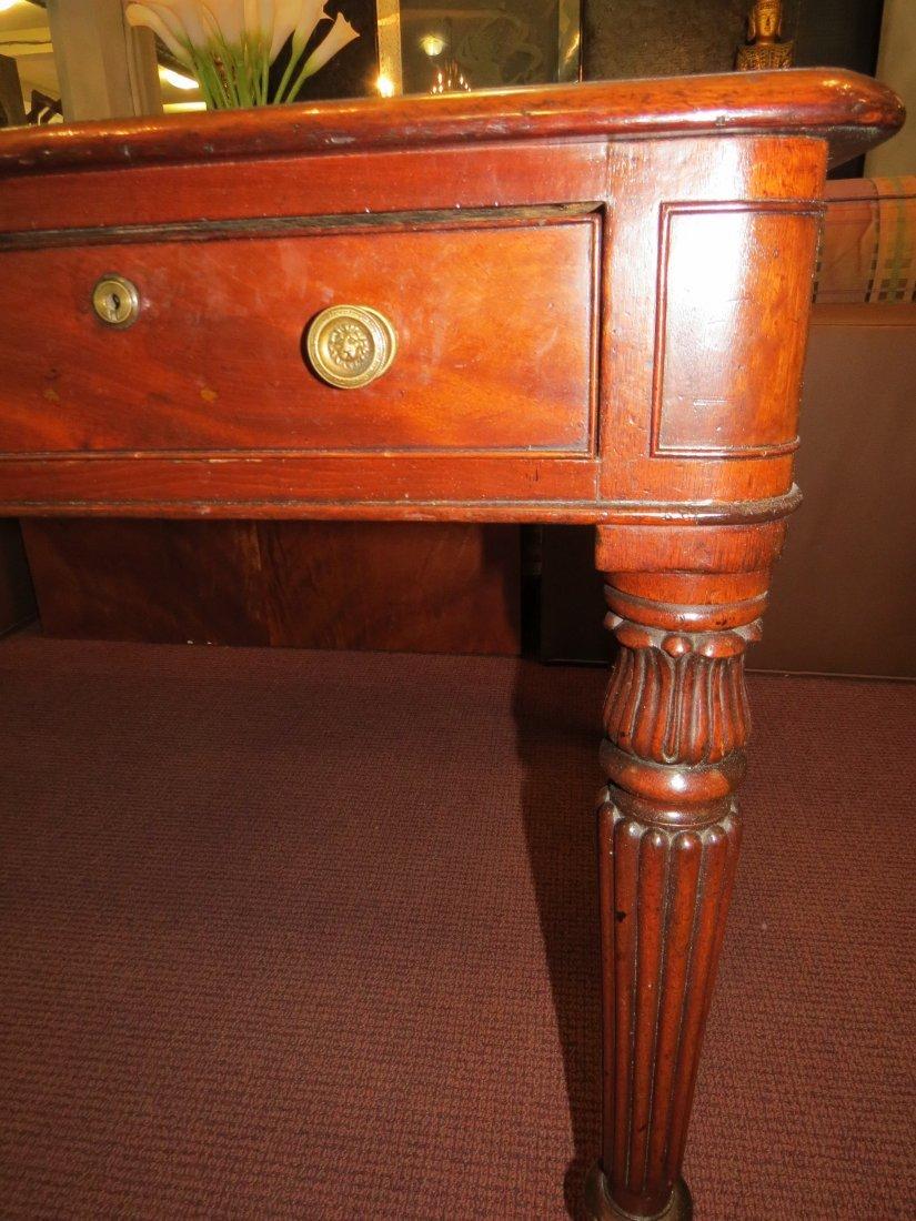 A William IV Mahogany Partner's Desk. - 6