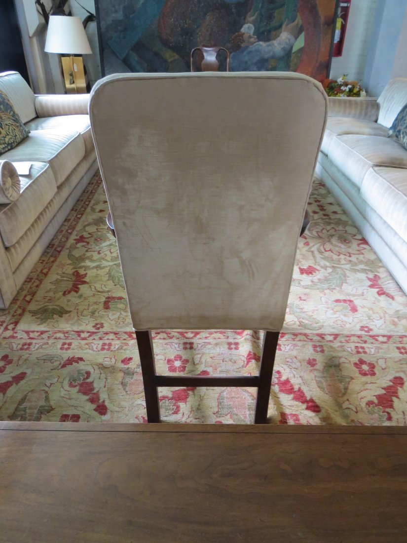 A Georgian Mahogany Open Armchair. - 4