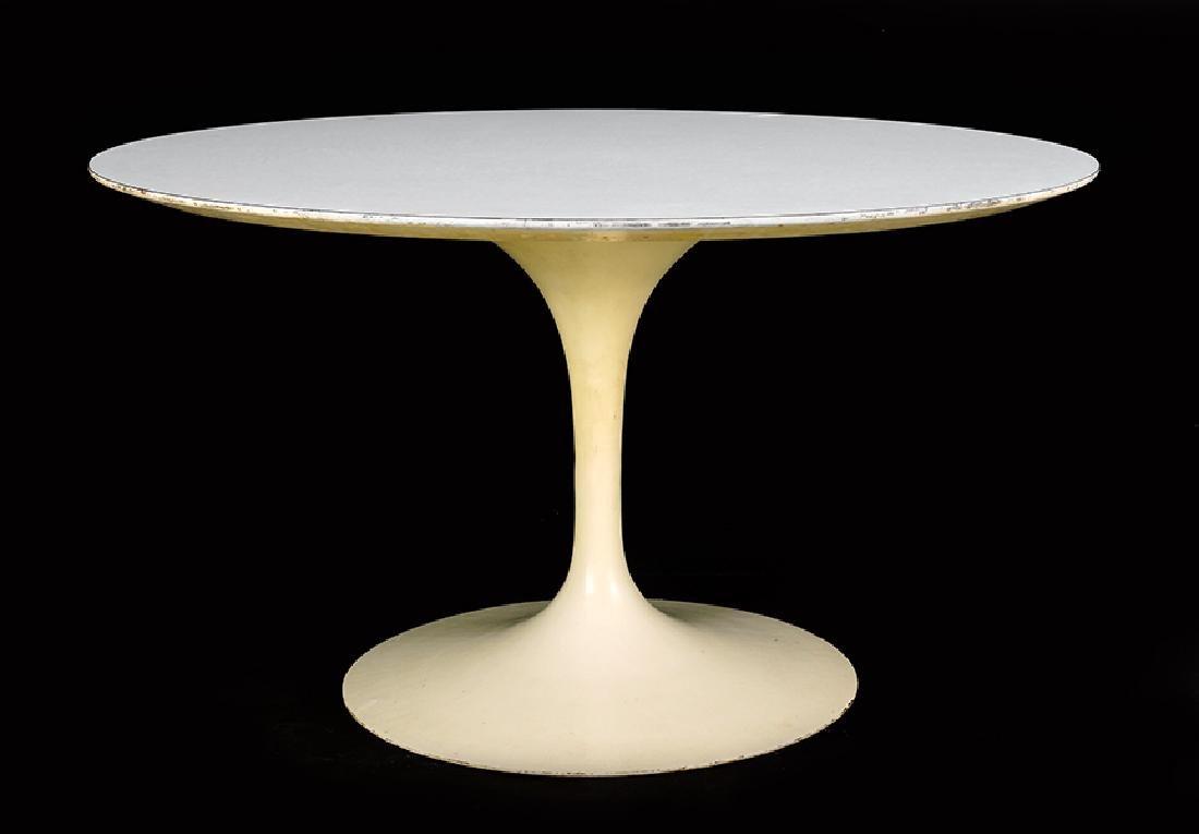 An Eero Saarinen for Knoll Tulip Table.