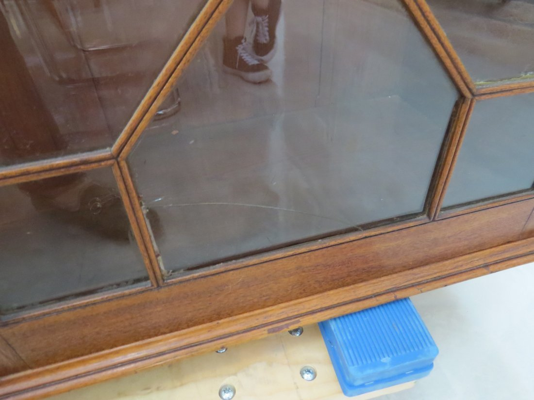 A Georgian Style Secretary Bookcase. - 11