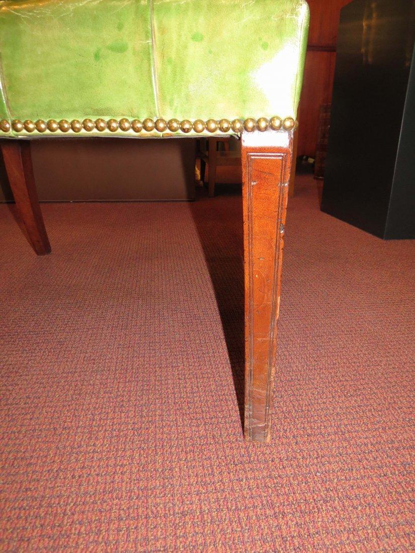 A Regency Mahogany Open Armchair. - 3