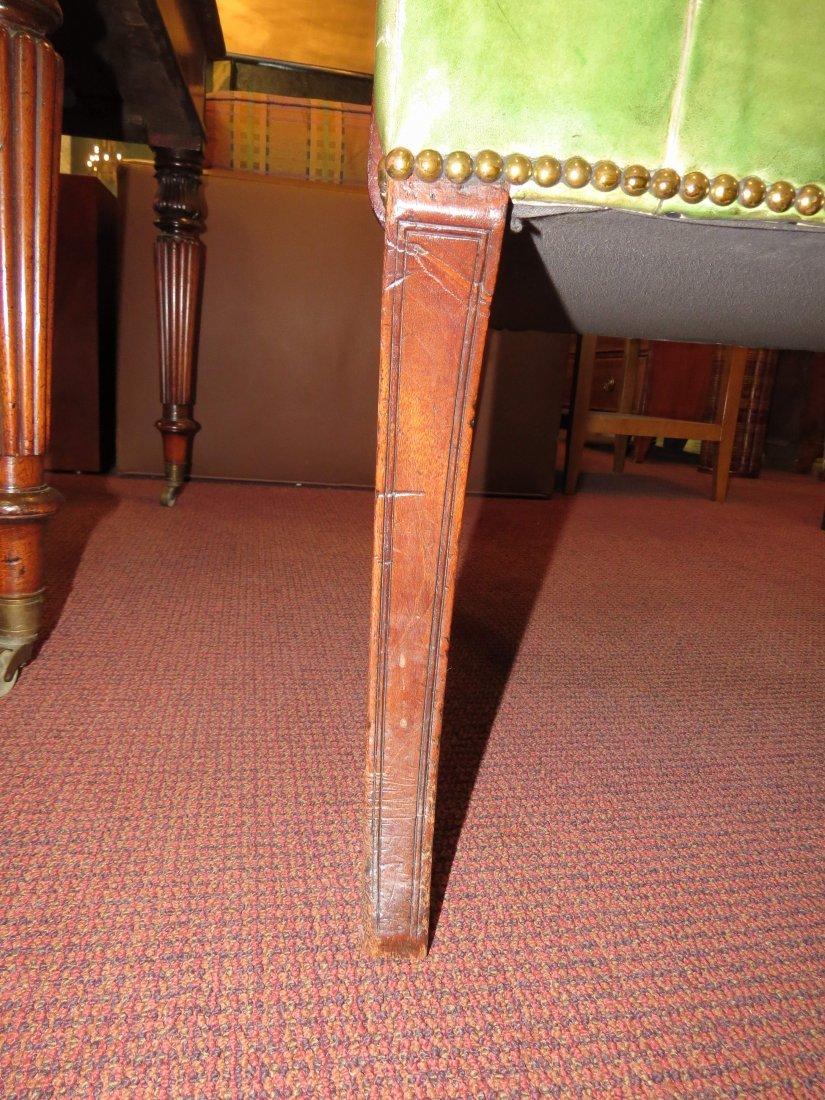 A Regency Mahogany Open Armchair. - 4