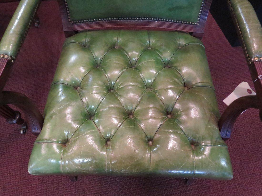 A Regency Mahogany Open Armchair. - 5