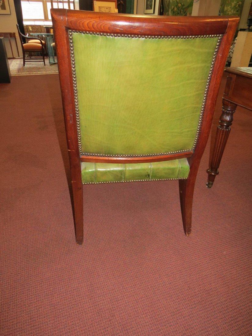 A Regency Mahogany Open Armchair. - 6