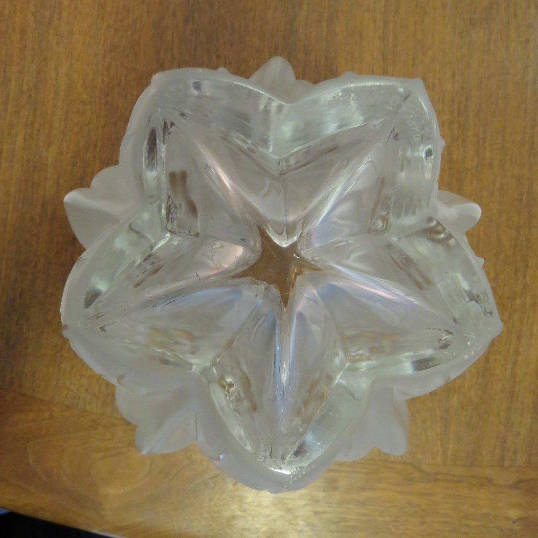 A Lalique Vase. - 2