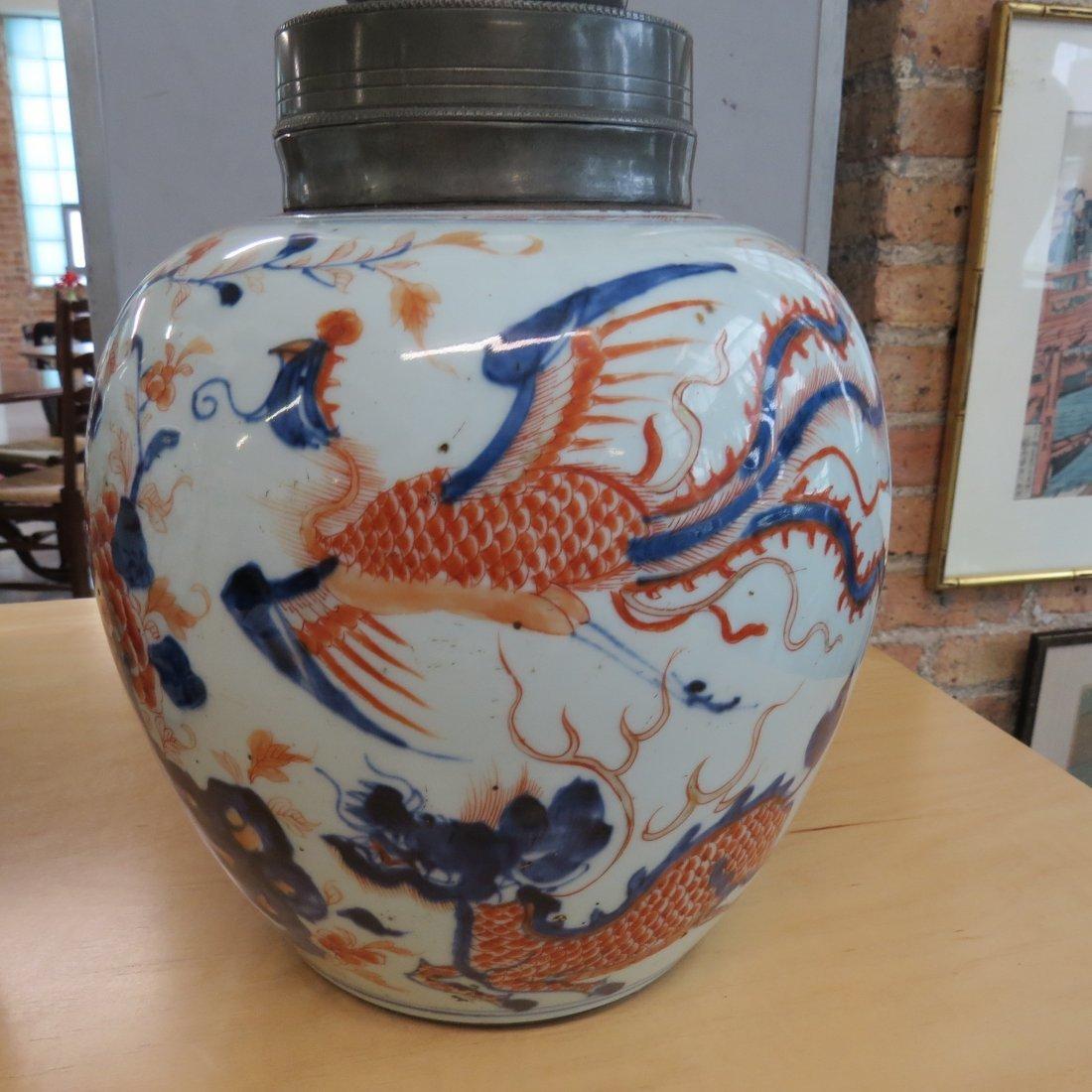 A Pair of 18th Century Chinese Porcelain Tea Caddies. - 3