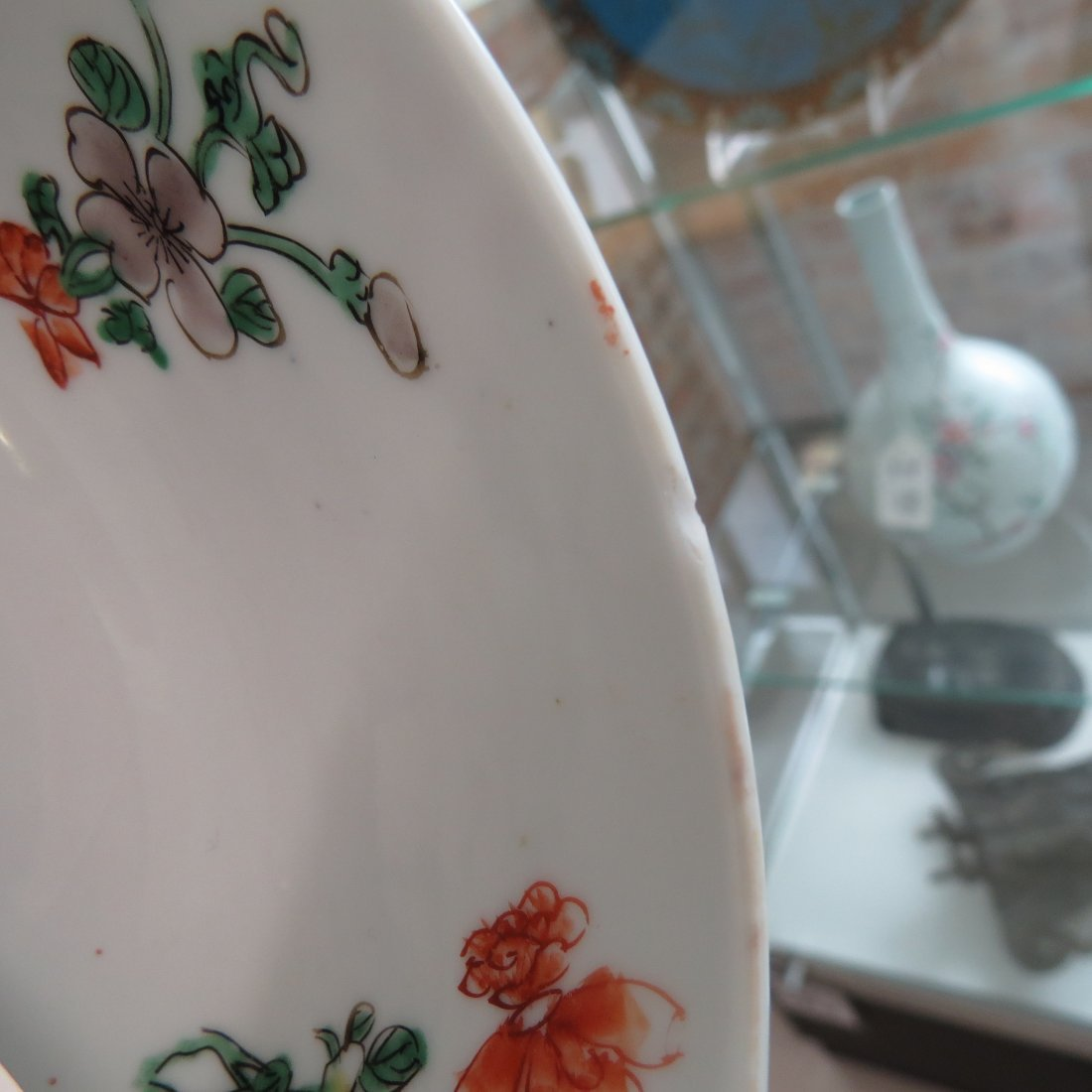 An 18th Century Chinese Famille Verte Porcelain Bowl. - 10