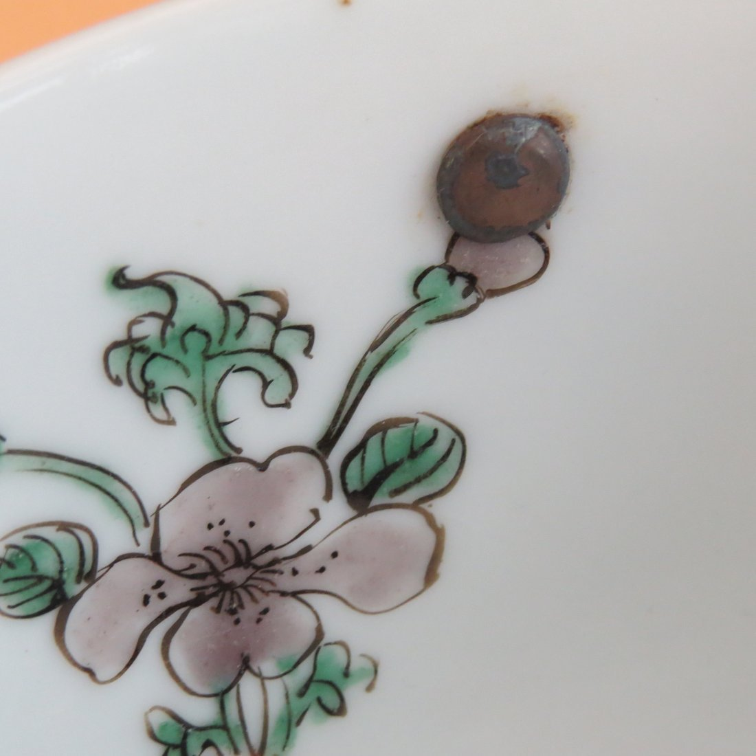An 18th Century Chinese Famille Verte Porcelain Bowl. - 5