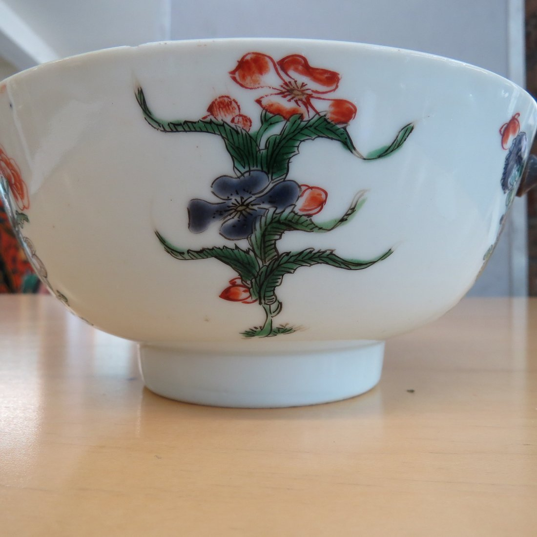 An 18th Century Chinese Famille Verte Porcelain Bowl. - 6