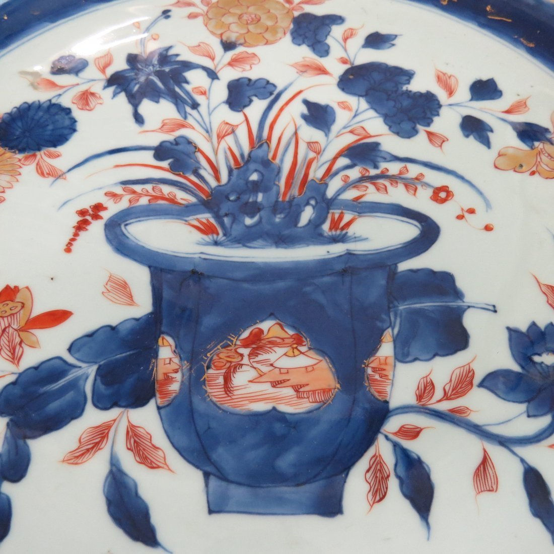 A 17th Century Japanese Imari Porcelain Charger. - 3