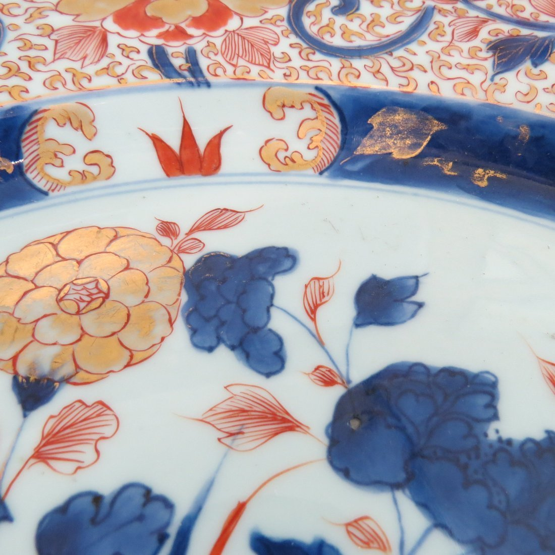A 17th Century Japanese Imari Porcelain Charger. - 6