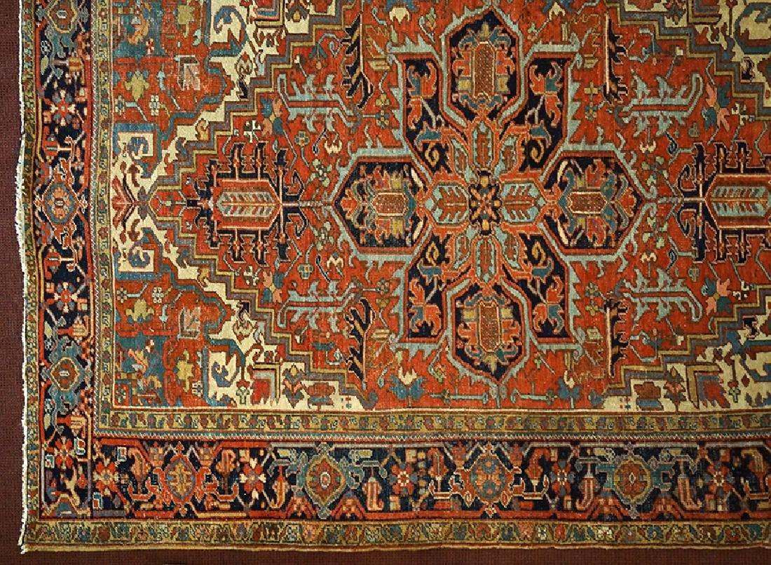 A Heriz Carpet.