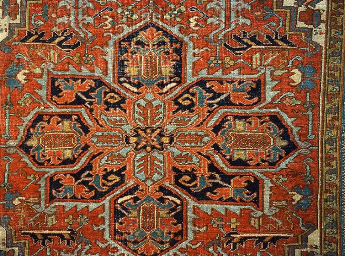 A Heriz Carpet. - 2