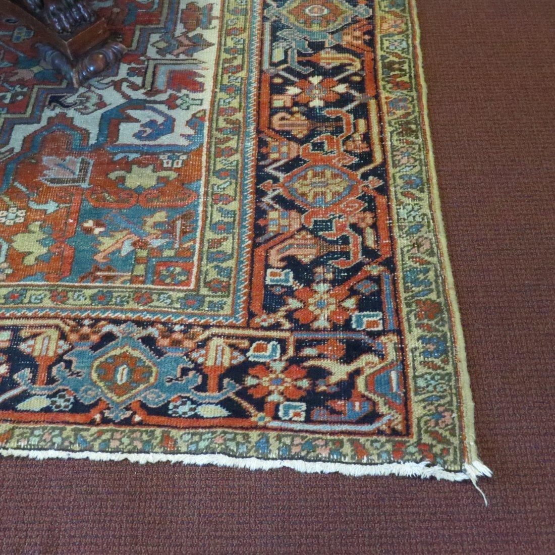 A Heriz Carpet. - 5