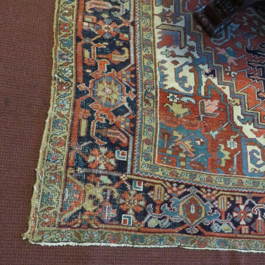 A Heriz Carpet. - 6