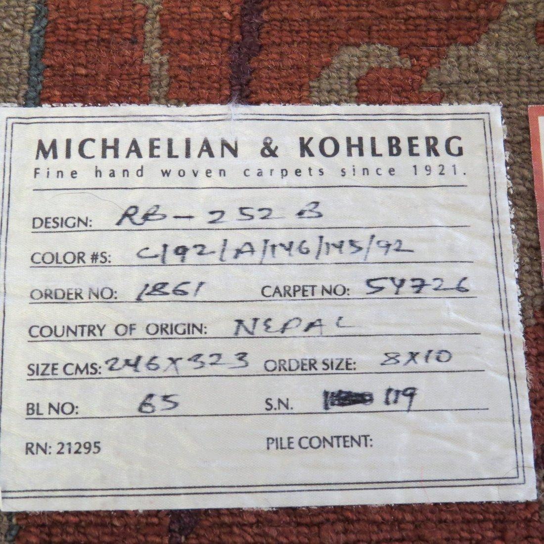 A Michaelian & Kohlberg Carpet. - 12
