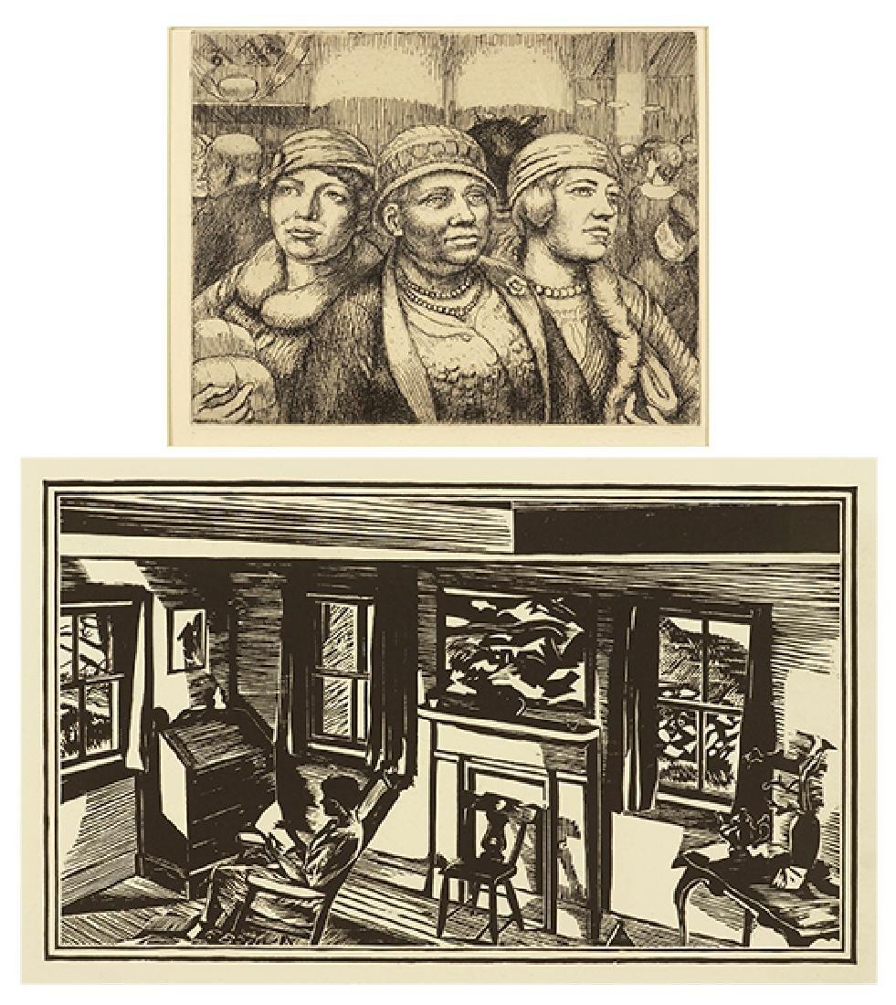 Kenneth Hayes Miller (American, 1876-1952) Three