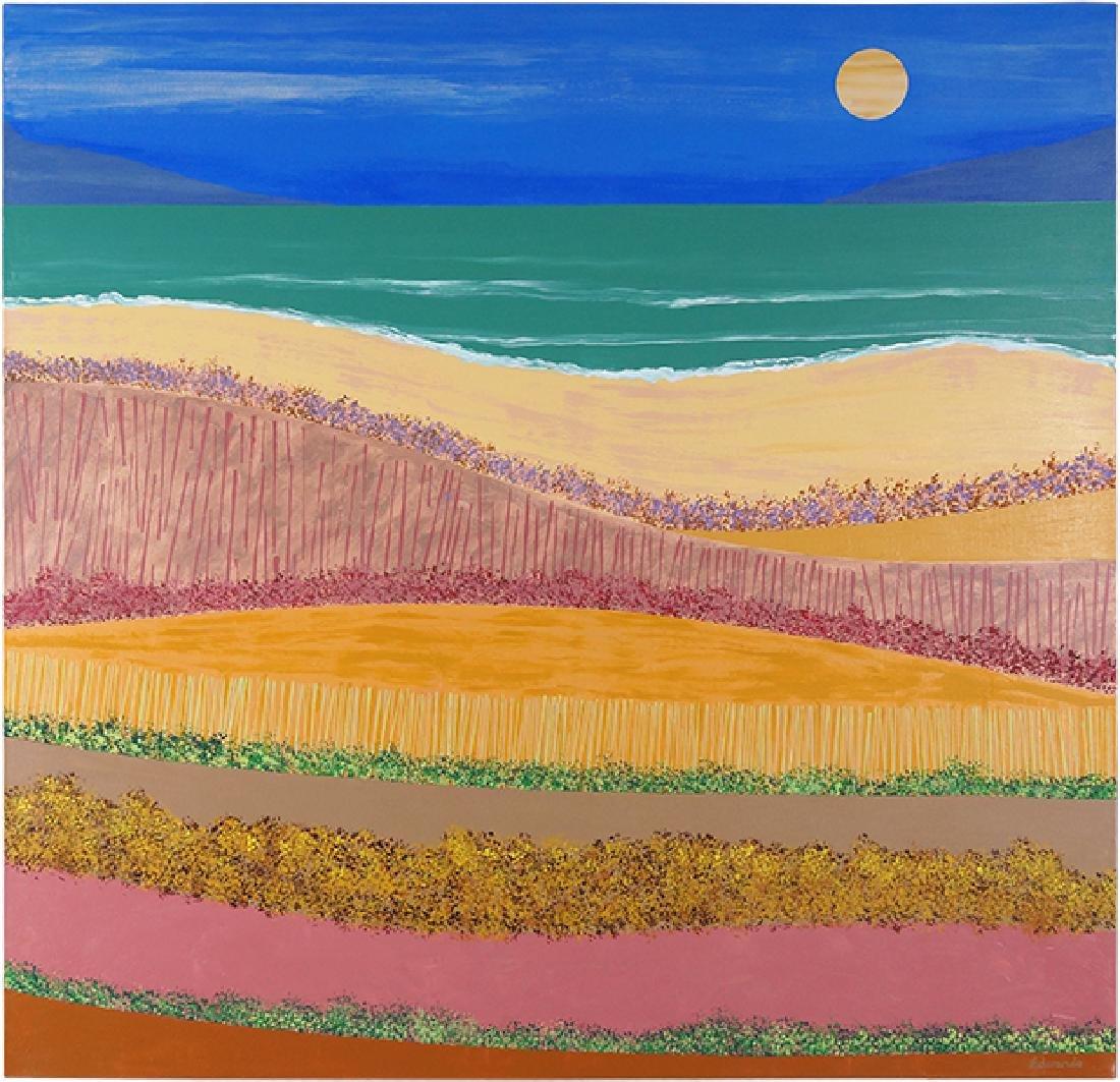 Stanley Edwards (American, B. 1941) Beach Landscape.