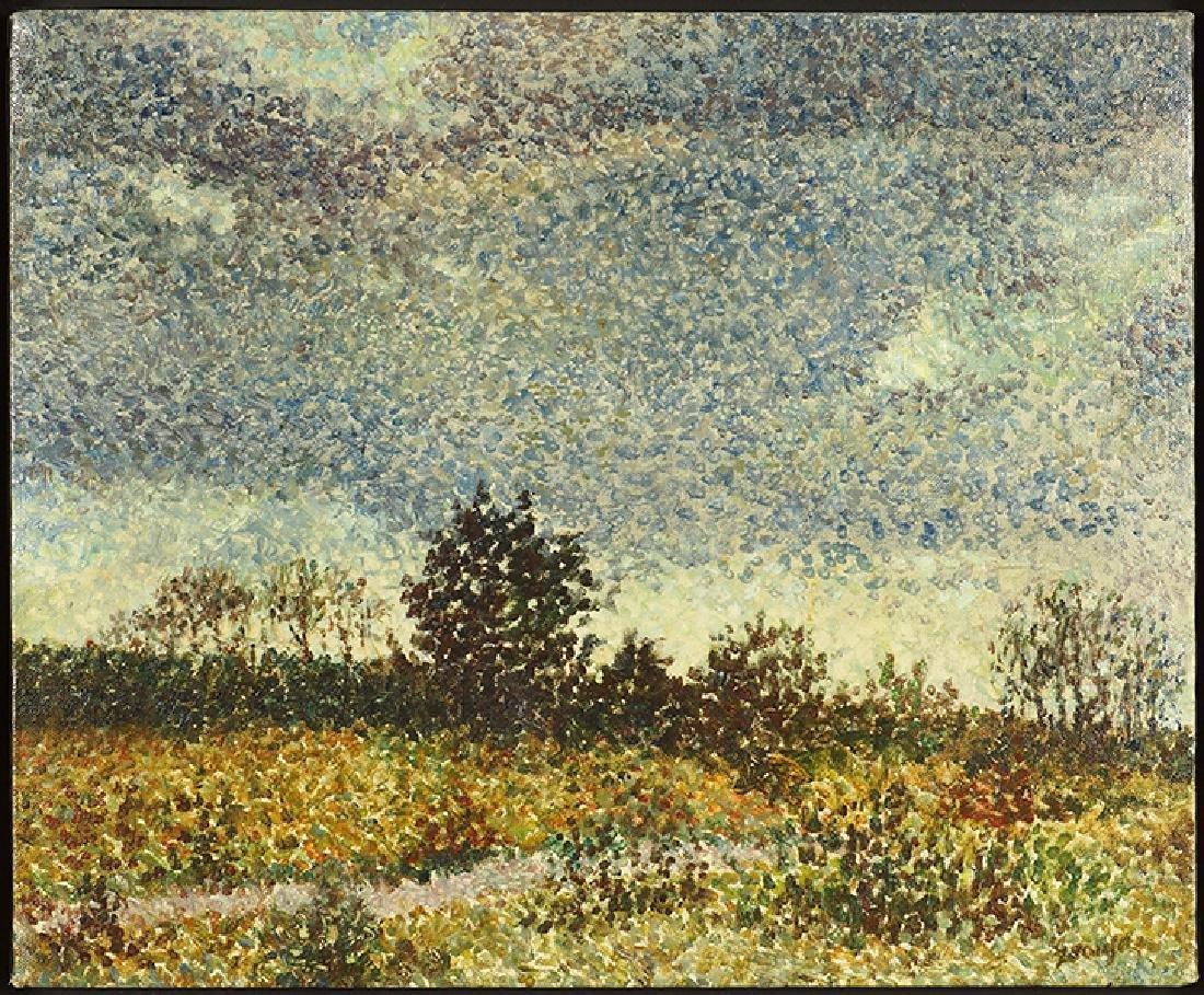 Crussian (American, 20th Century) Landscape.