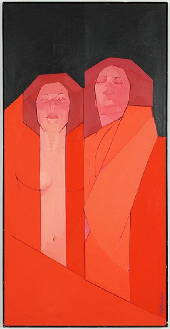 Janet McKenzie (American, B. 1956) Two.