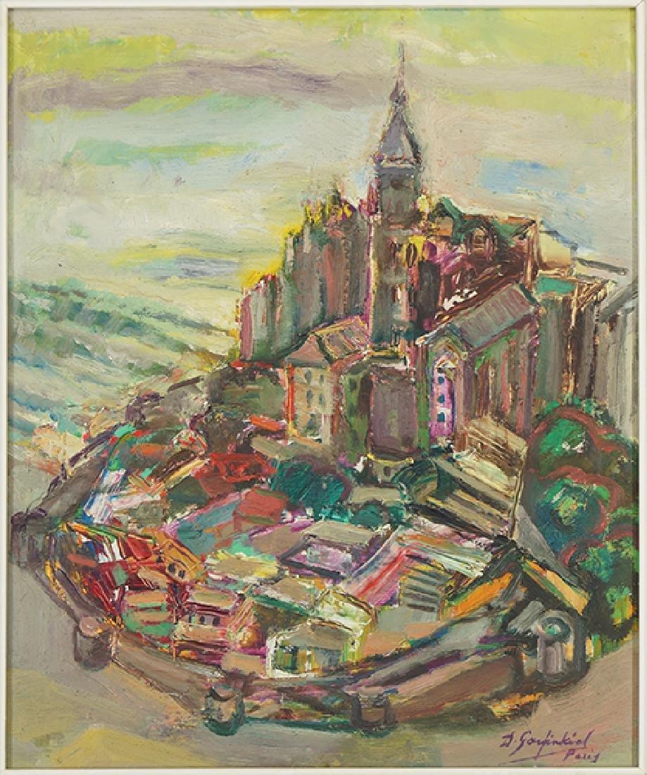 David Garfinkiel (Polish, 1902-1970) Le Mont St.