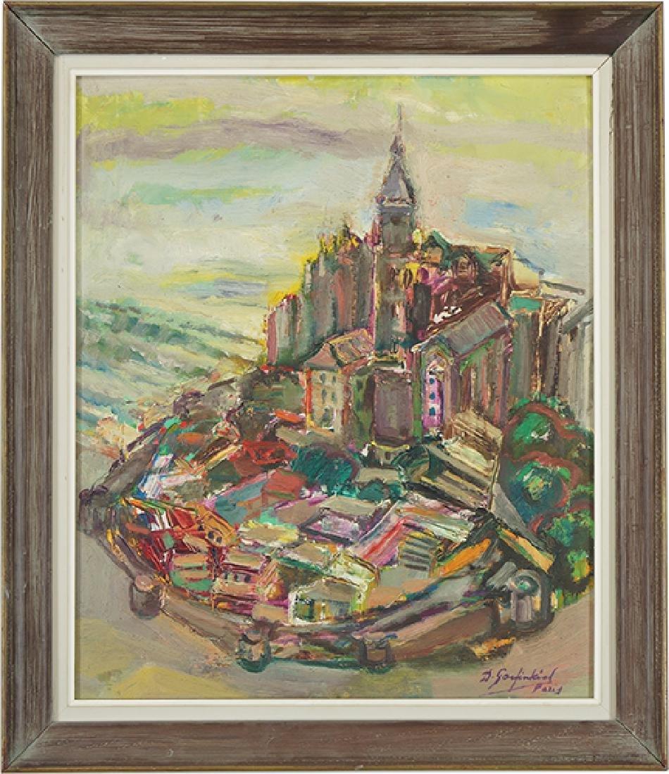 David Garfinkiel (Polish, 1902-1970) Le Mont St. - 2