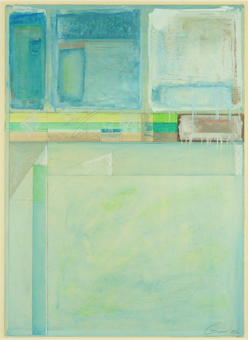 Lee Gum (American, 20th Century) Three Works. - 4