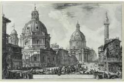 Giovanni Batista Piranesi (Italian, 1720-1778) Two