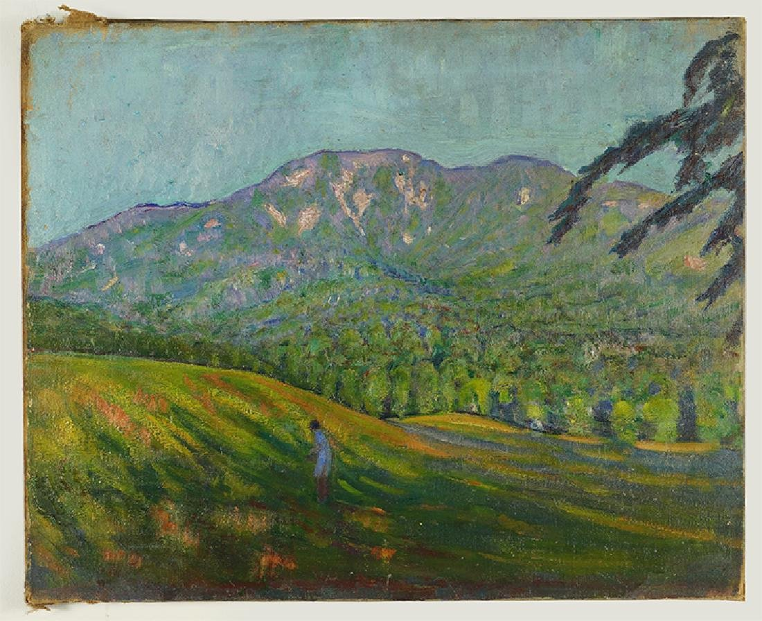 Kenneth Frazier (American, 1876-1949) Landscape with