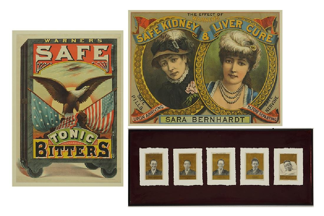 Two 19th Century Advertising Posters.