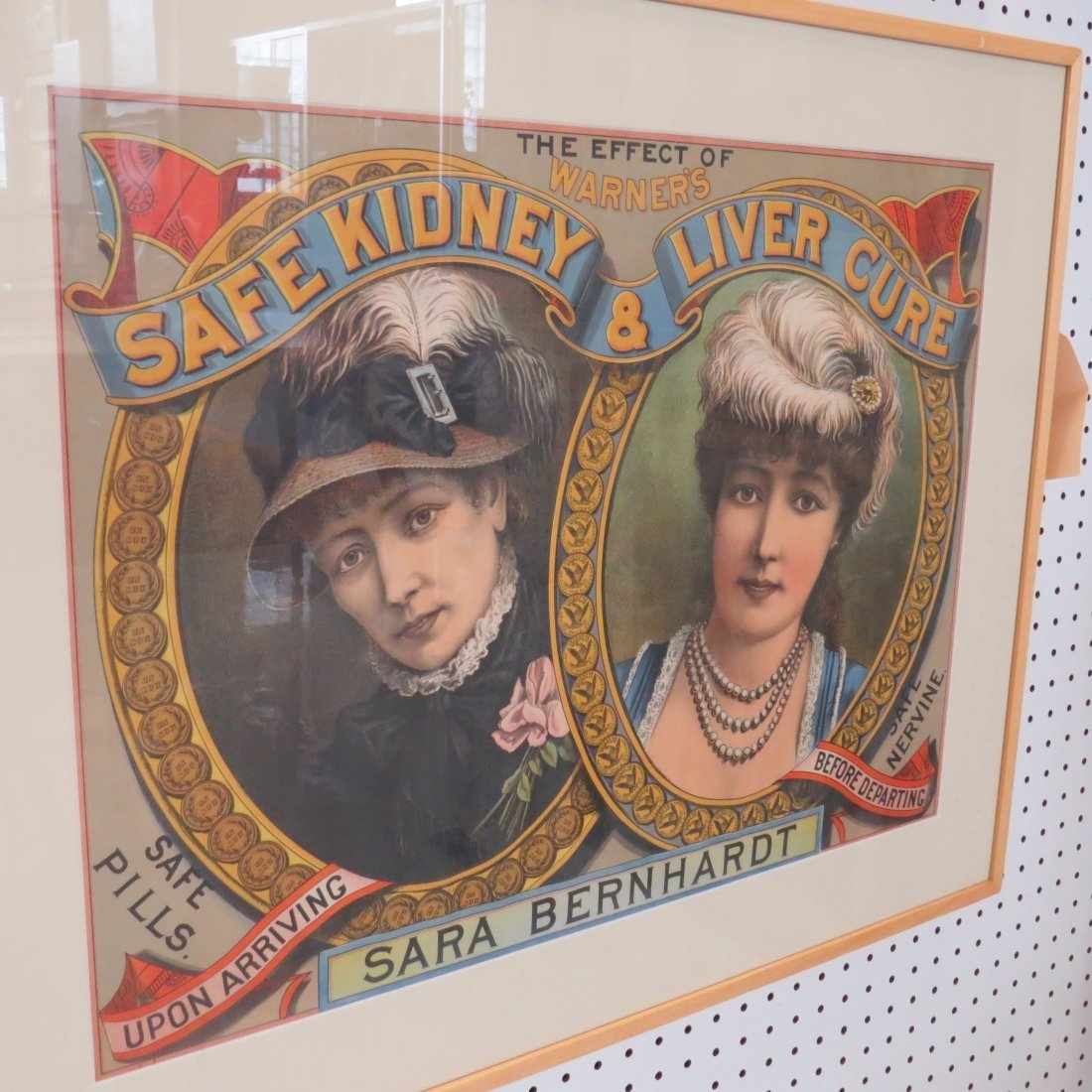 Two 19th Century Advertising Posters. - 6