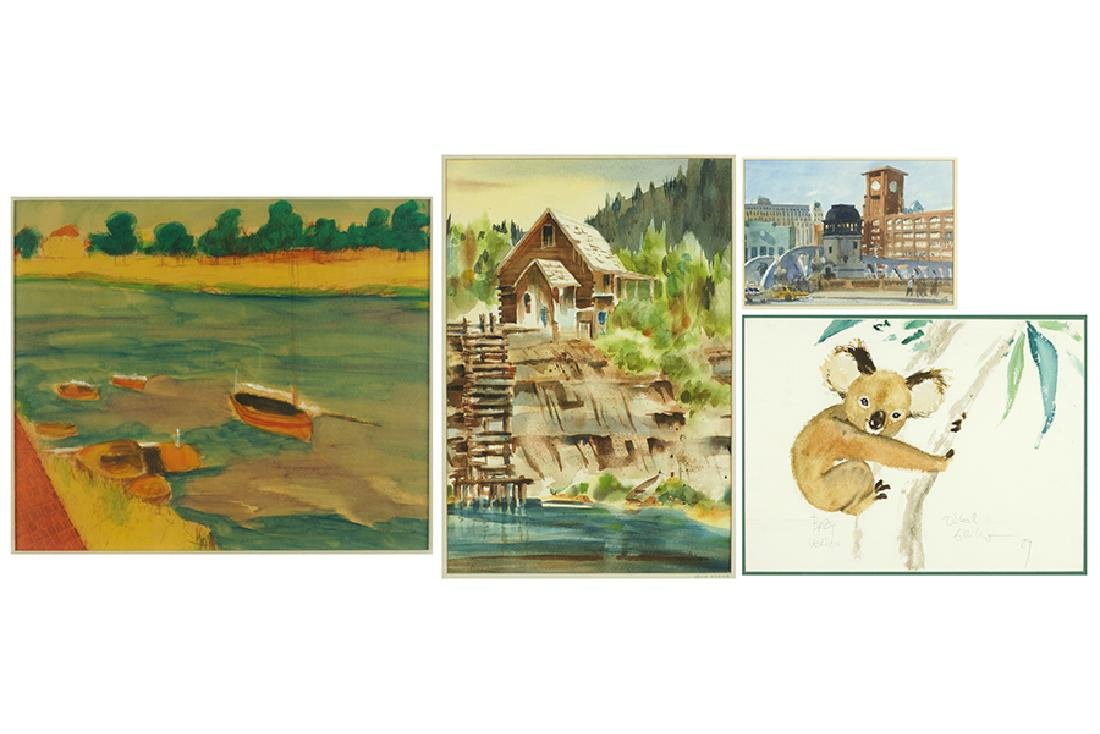 A Collection of Watercolors.