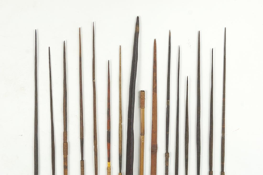 A Papua New Guinea Bow and Arrows. - 2