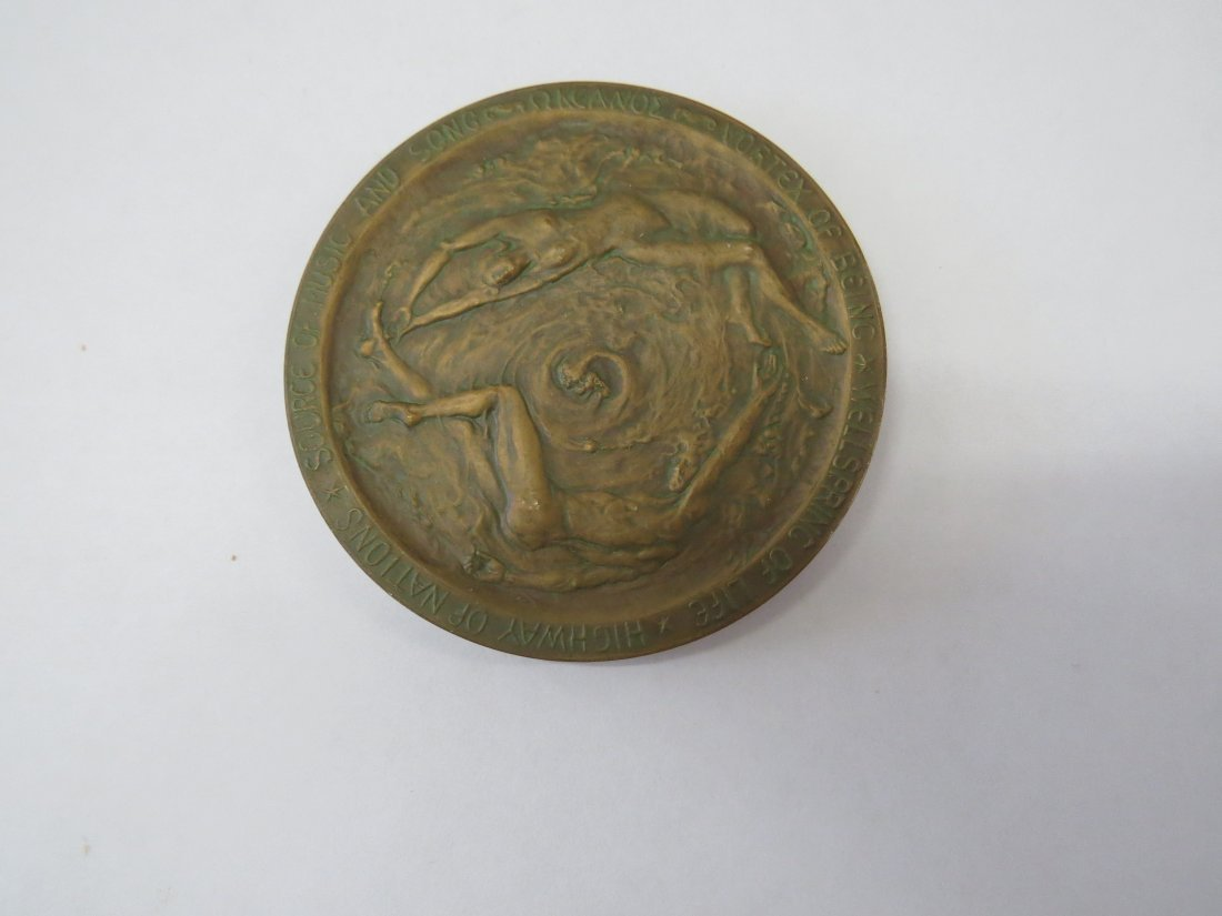 A Set of Cast Bronze Medals Issued by The Circle of - 9