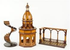 A Contemporary Wood Model of a Duomo