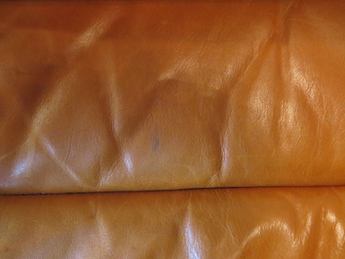 A Walter Knoll for Brayton Leather Chaise Longue. - 17