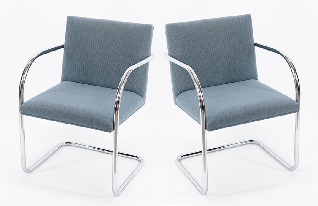 A Set of Four BRNO Chairs.