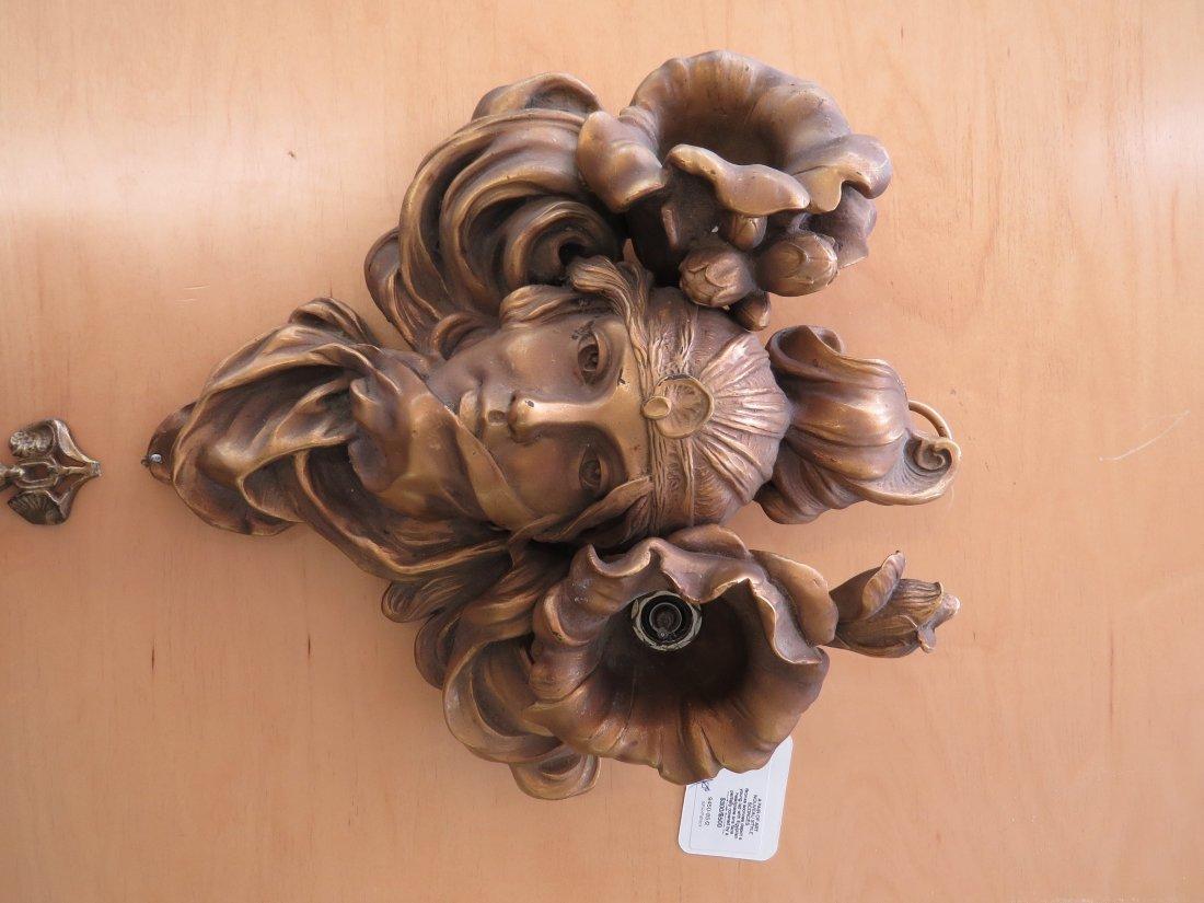 A Pair of Art Nouveau Style Sconces. - 2