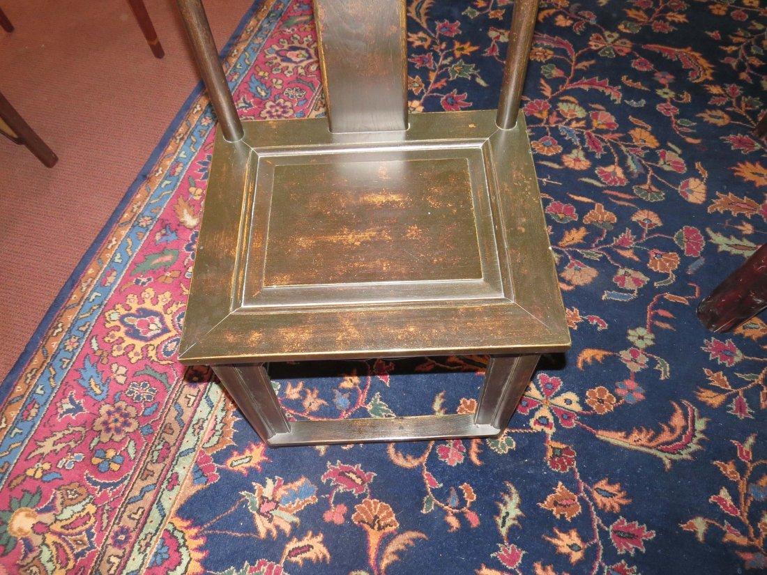 A Set of Six Chinese Yoke Back Chairs. - 2