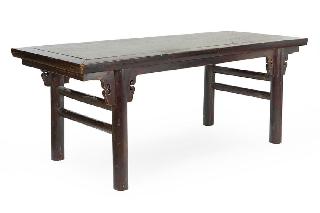 A Chinese Calligraphy Table.