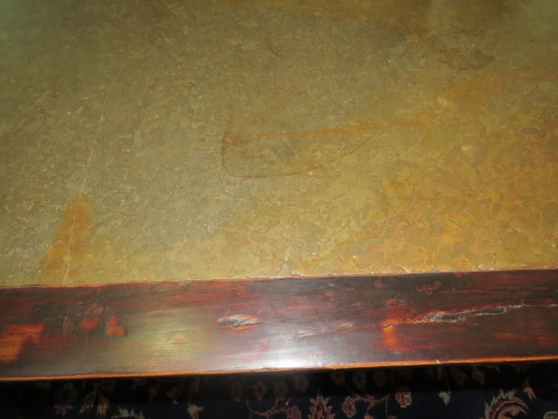 A Chinese Calligraphy Table. - 4